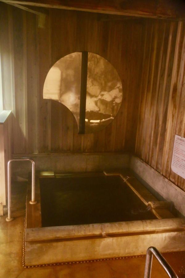 恵比寿屋旅館の貸切露天風呂