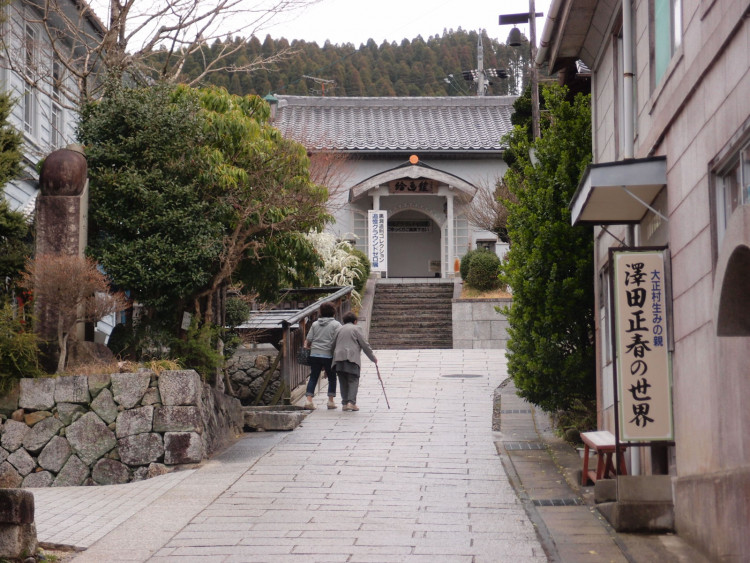 日本大正村は大正時代の建築や街並みをそのまま保存