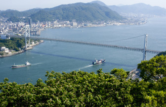 山口県ならではの景色が広がります。