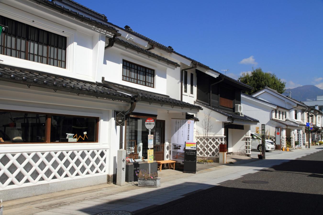 松本市の街並み