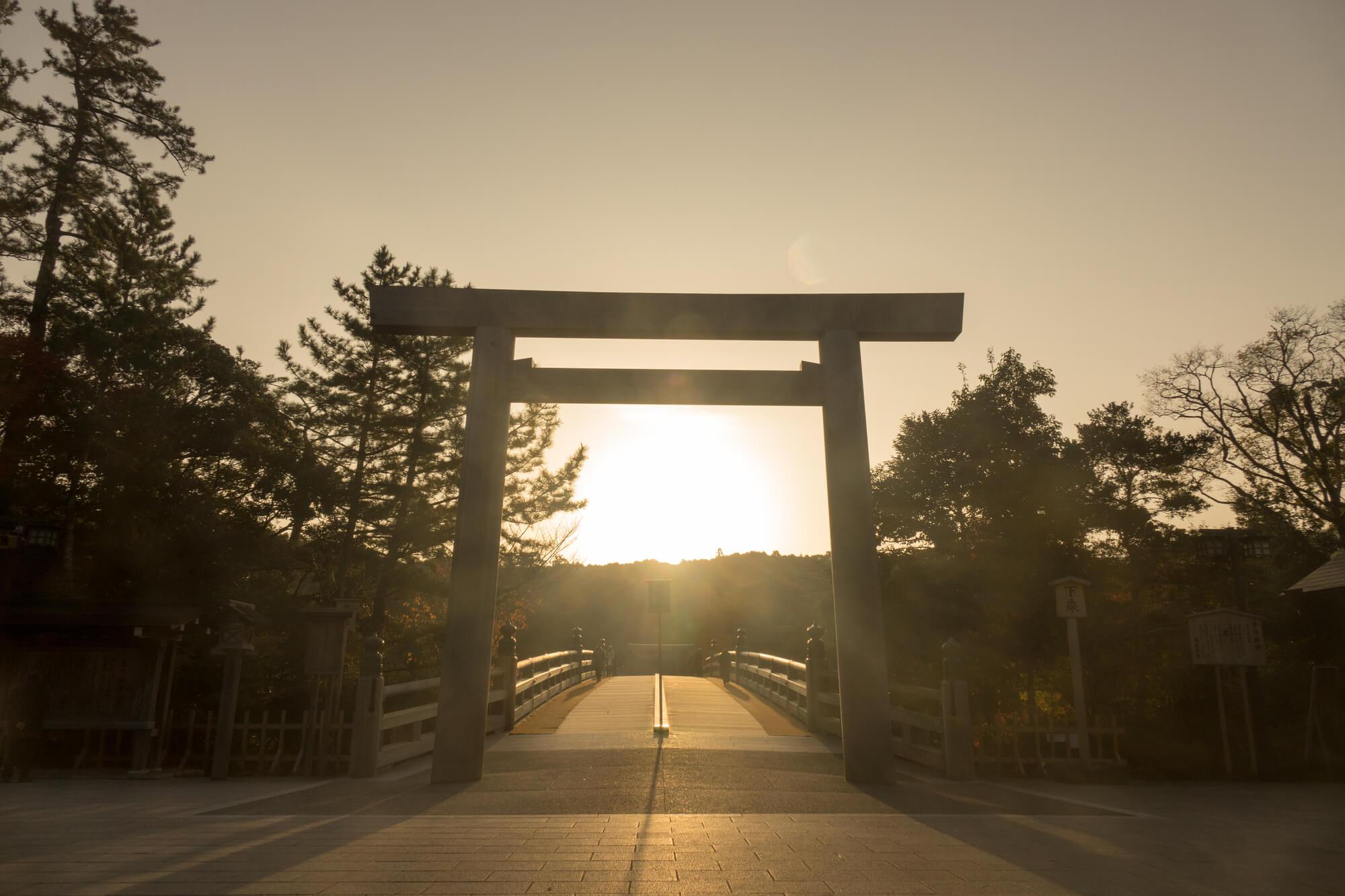 ゆこたびで紹介する伊勢神宮の写真